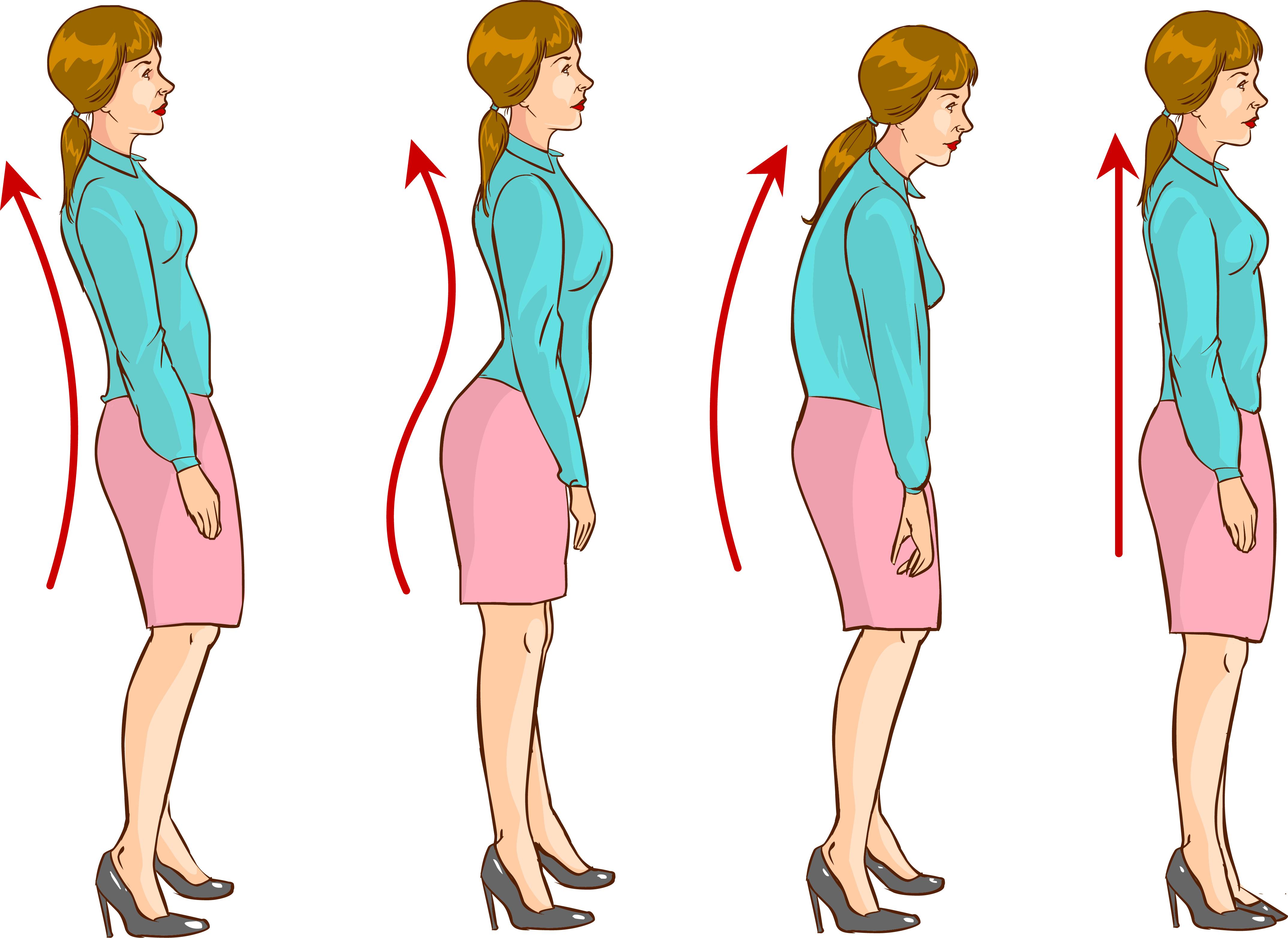 Kết quả hình ảnh cho consecuencias de una mala postura